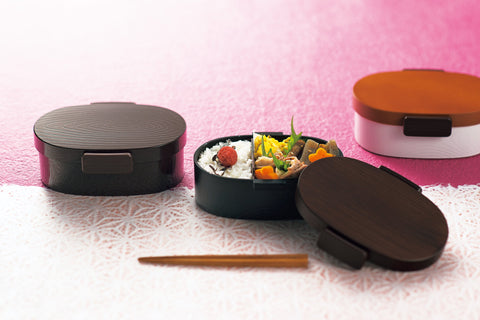 Mokume Koban Bento Box 800ml | Brown