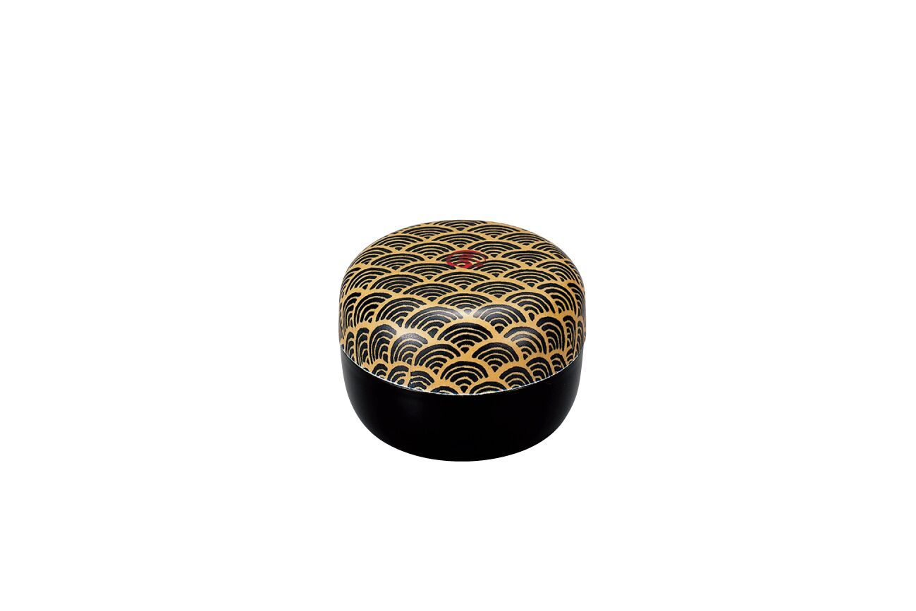 Wafu Cloth Tea Box Mini | Ocean Wave