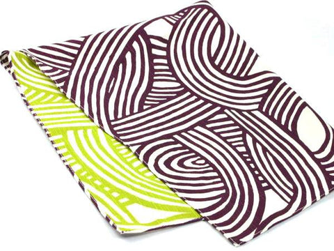 48 Isa monyo Reversible | Knot Purple/Green