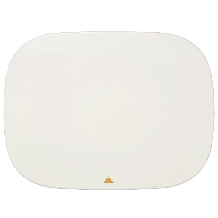 Mt Fuji Rounded Square Plate