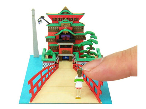 Miniatuart | Spirited Away: Chihiro and Aburaya Hot Springs