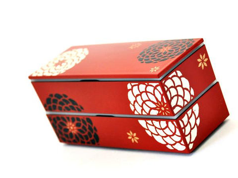 Ojyu long bento | Red