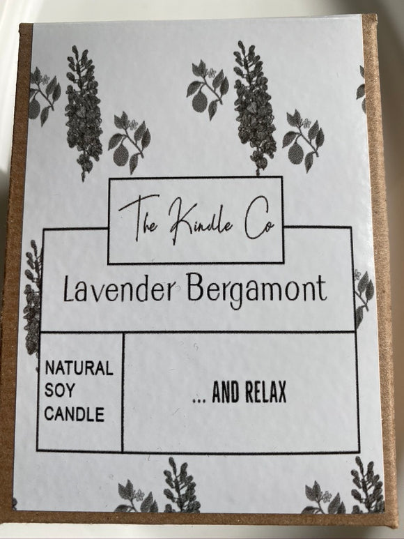 The Unpacked Box - The Kindle Co. Lavender & Bergamot