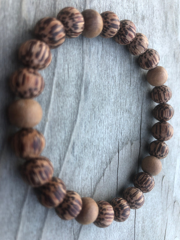Palm & Sandalwood Bracelet