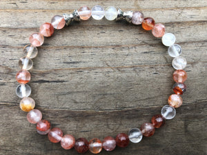 Cherry Quartz Gemstone Bracelet
