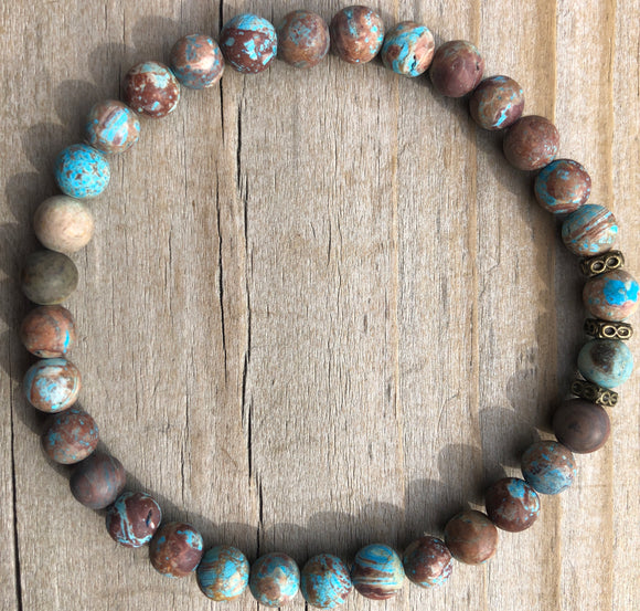 Mini Apatite Gemstone Bracelet