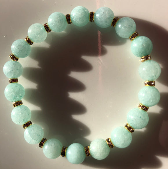 Blue/Green Jade Bracelet