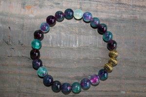 Dragons Vein Agate Bracelet