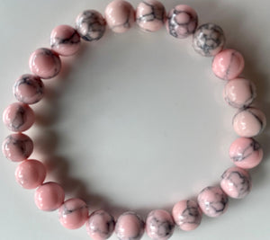 Pink Dyed Howlite