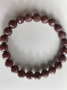 Faceted Brown Jade Overstock