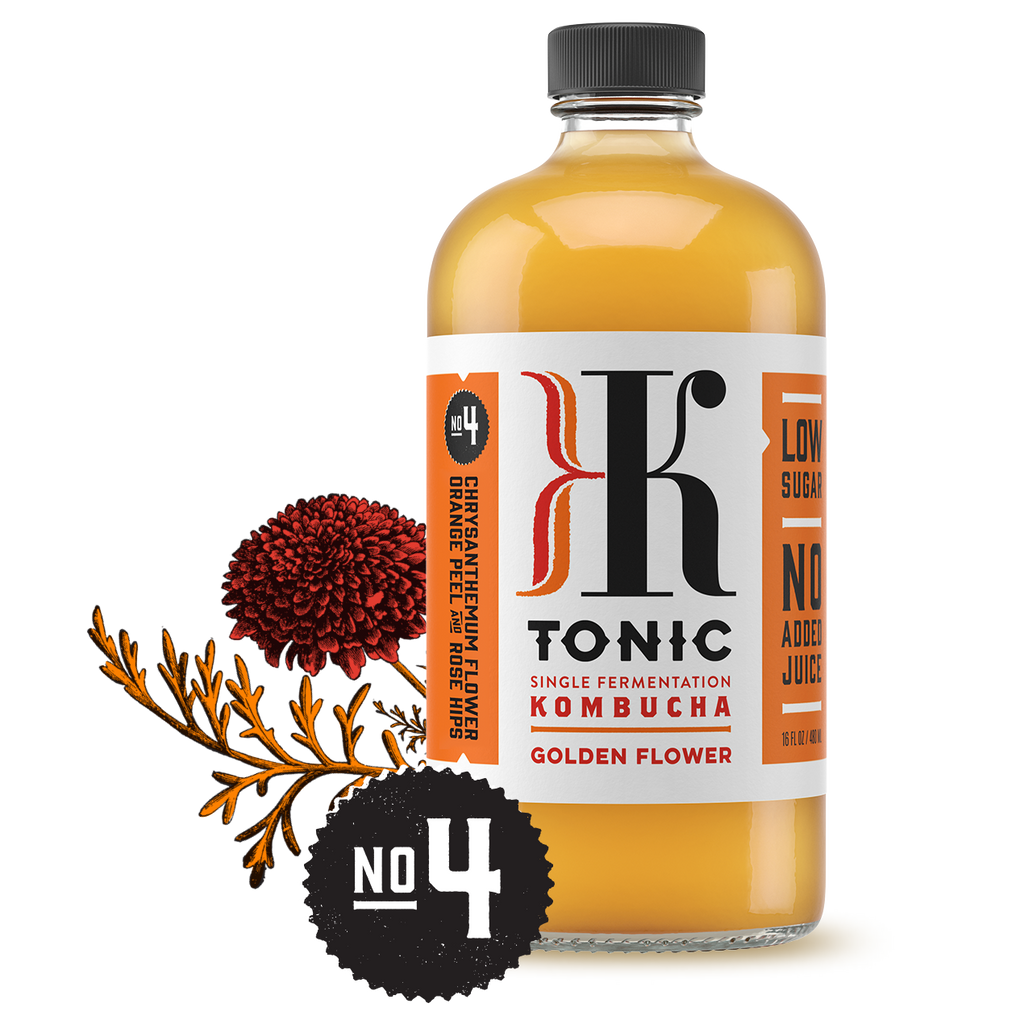 KTonic Kombucha No.4 - Golden Flower