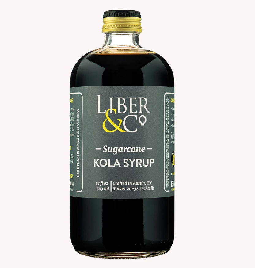 Liber & Co Sugarcane Kola Syrup - 9.5oz