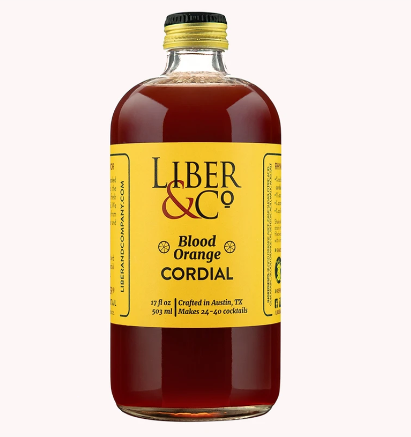 Liber & Co Blood Orange Cordial - 9.5oz