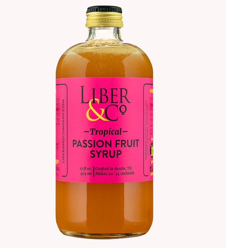 Liber & Co Tropical Passion Fruit Syrup - 9.5oz