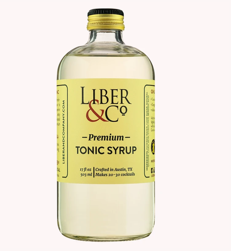 Liber & Co Premium Tonic Syrup - 9.5oz
