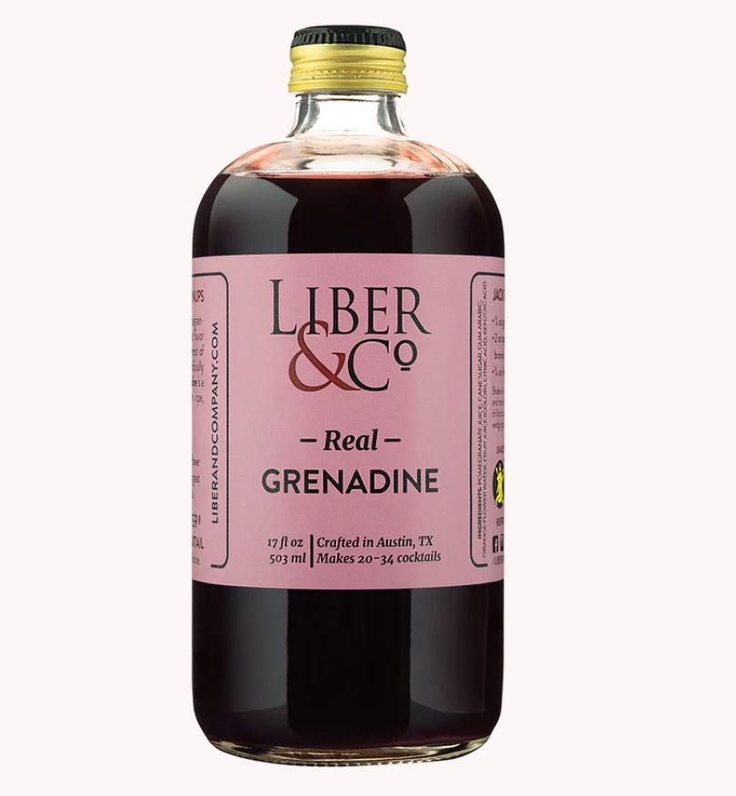 Liber & Co Real Grenadine - 9.5oz