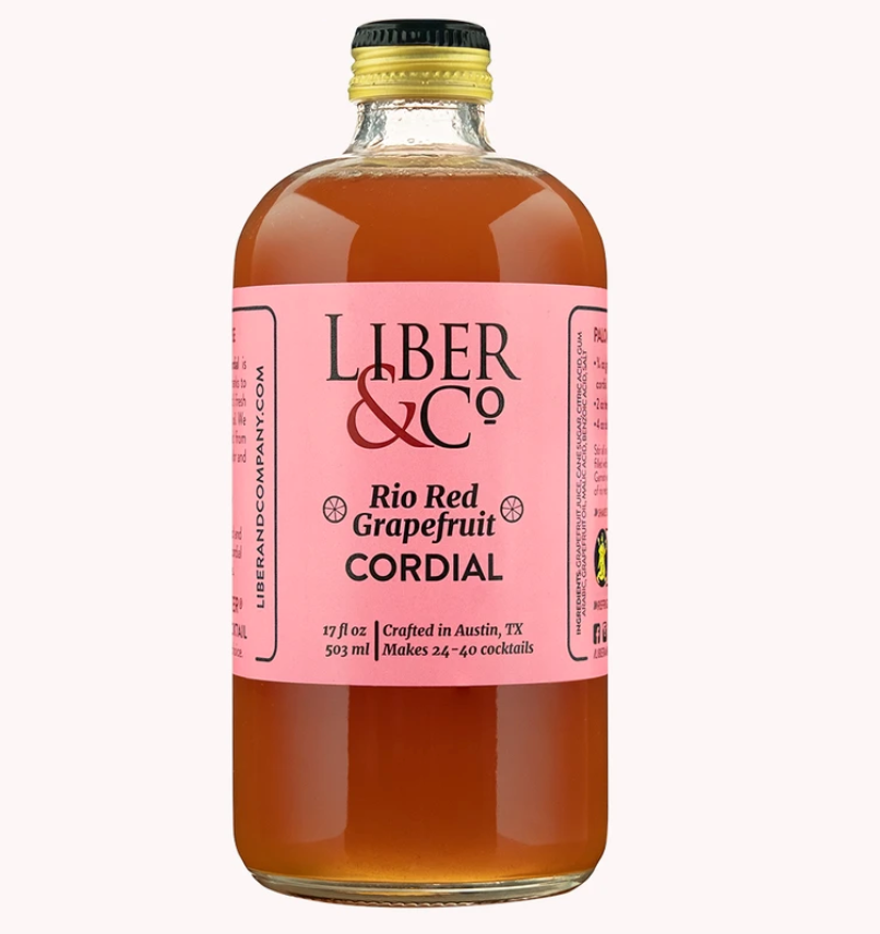 Liber & Co Rio Red Grapefruit Cordial - 9.5oz