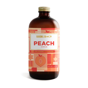 Shrub & Co Peach Shrub 16oz
