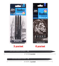 Load image into Gallery viewer, Woodless Charcoal Pencil