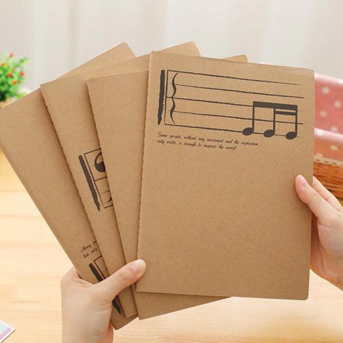 Staff Song Writing Notebook