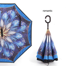 Load image into Gallery viewer, Windproof Reverse Folding Umbrella