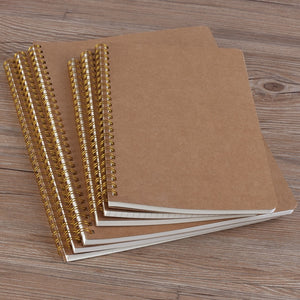 Medium Kraft Grid Notebook