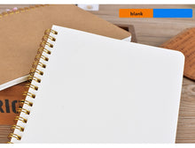 Load image into Gallery viewer, Medium Kraft Grid Notebook