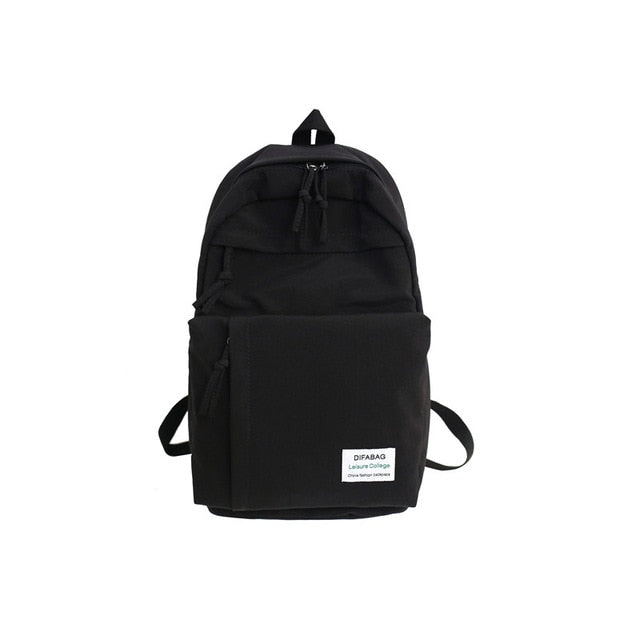 Classic waterproof nylon women backpack