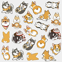 Load image into Gallery viewer, Cute Dog Decoration Washi Stickers