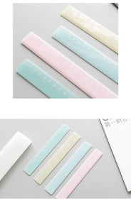 Candy color plastic ruler