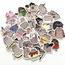 Load image into Gallery viewer, Cartoon Cat Stickers