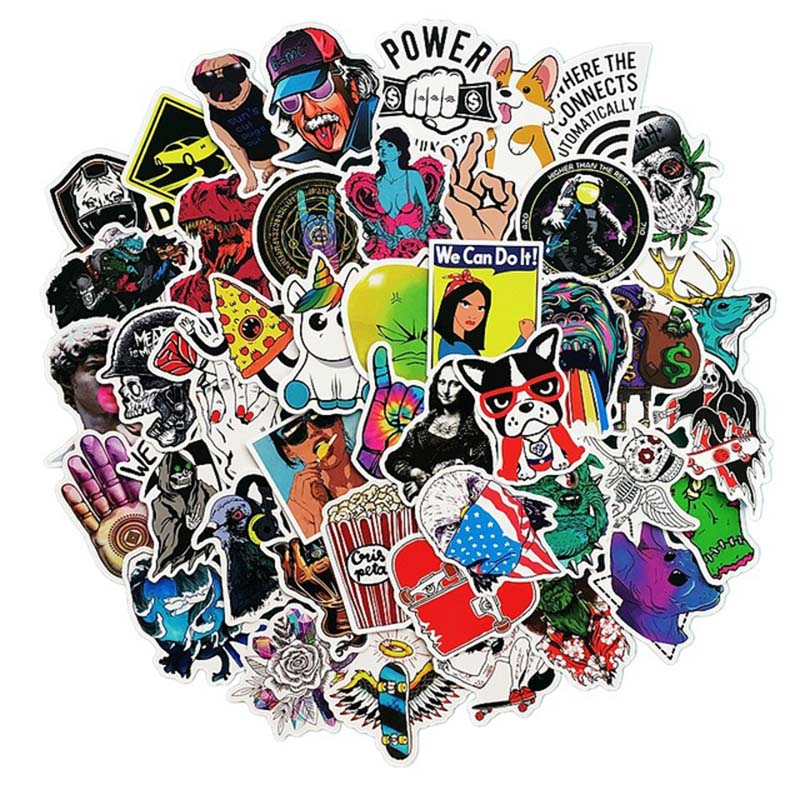 Fashion Style Graffiti Stickers