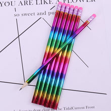 Load image into Gallery viewer, Student Rainbow Wooden Pencil
