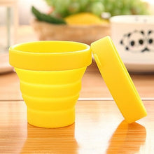 Load image into Gallery viewer, Portable Silicone Telescopic Folding Cup