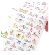 Load image into Gallery viewer, Kawaii PVC Flower Stickers