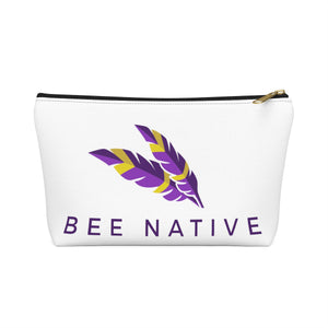 Accessory Pouch w T-bottom - Bee Native