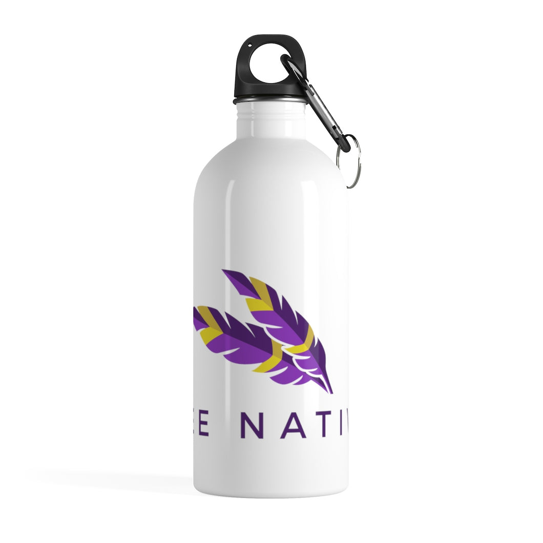 Stainless Steel Water Bottle - Bee Native
