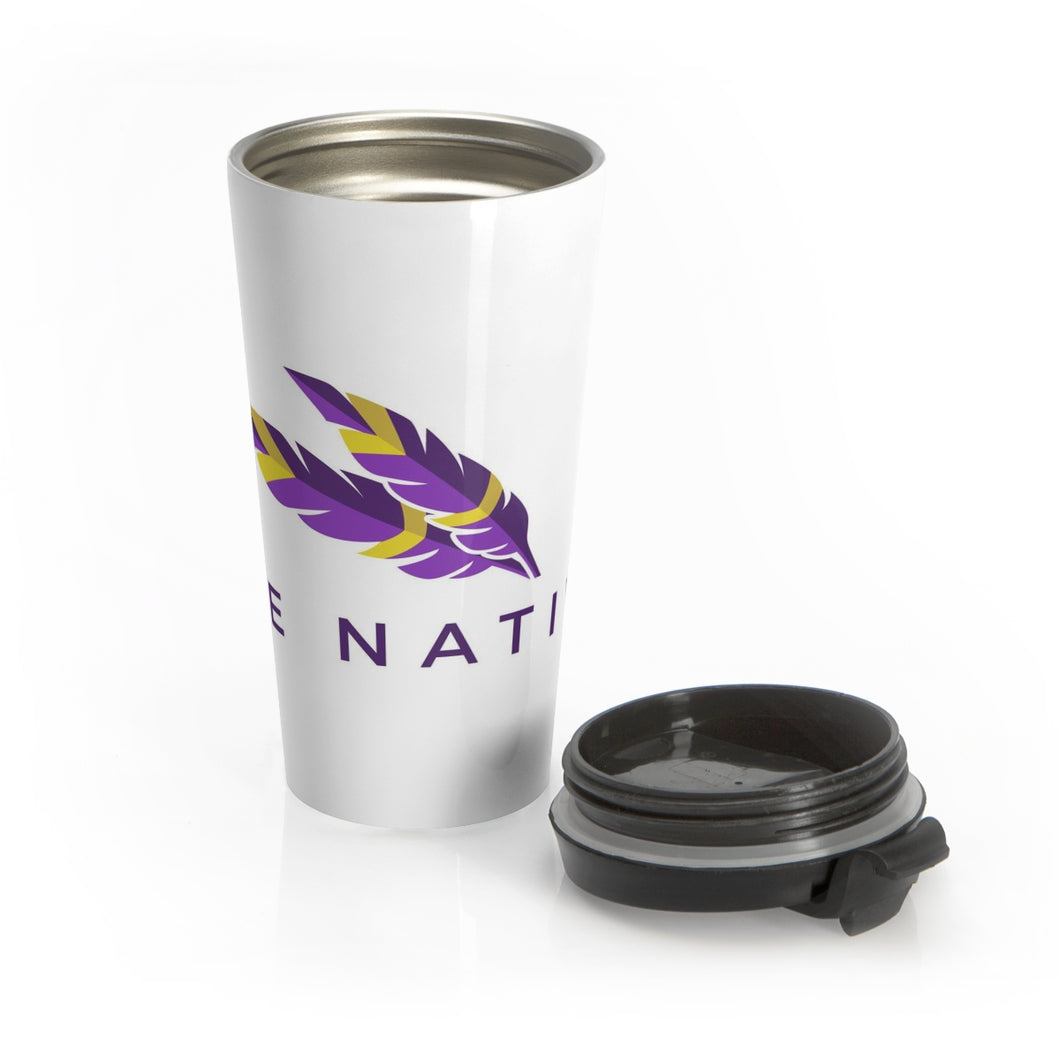 Stainless Steel Travel Mug - Bee Native