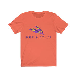 Unisex Jersey Short Sleeve Tee - Bee Native
