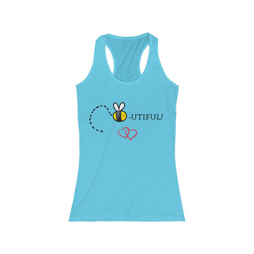 Women's Racerback Tank - Bee Native