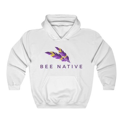 Unisex Heavy Blend™ Hooded Sweatshirt - Bee Native