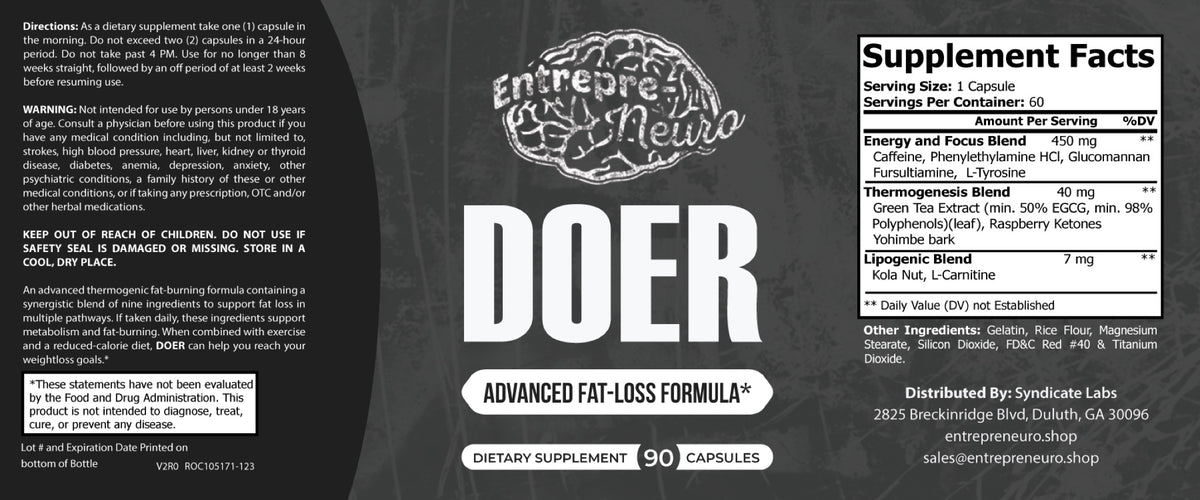 DOER - Oxyburn Fat Burner