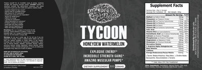 TYCOON - Nitric Shock Pre-Workout (Watermelon)