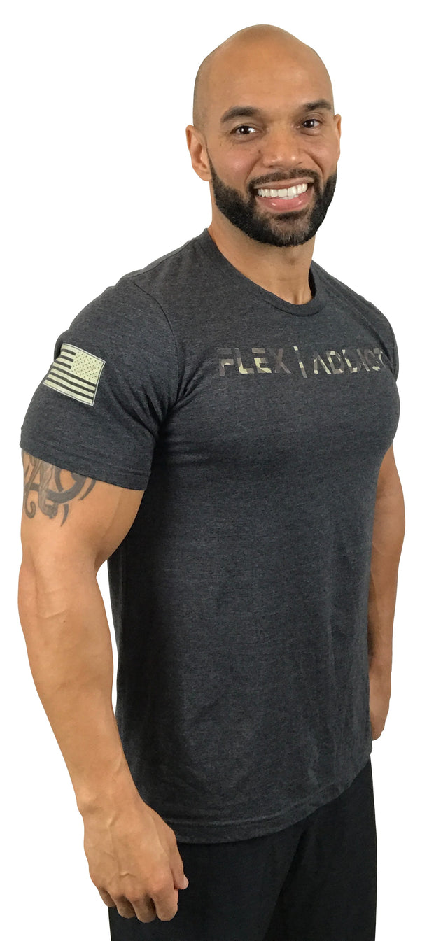 Camo Signature: Fitted Heather Gray T-Shirt