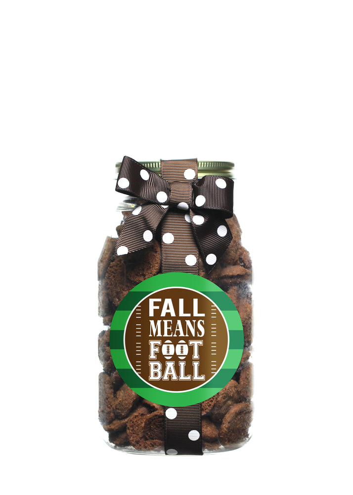 Brownie Crisp - Fall Means Football
