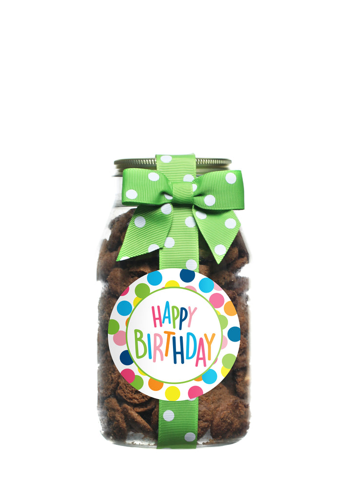 Brownie Crisp - Happy Dot Happy Birthday