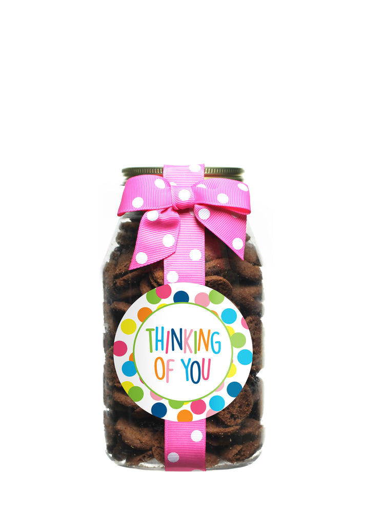 Brownie Crisp - Happy Dot Thinking of You