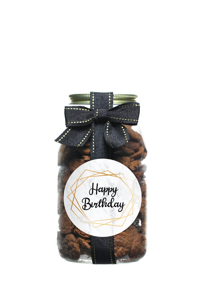 Brownie Crisp - Marble Happy Birthday