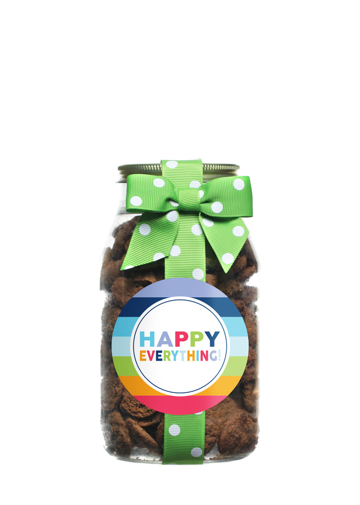 Brownie Crisp - Rainbow Stripe Happy Everything