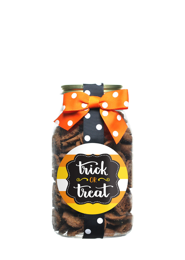 Brownie Crisp - Trick or Treat Candy Corn